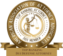 The American Institute's DUI/DWI Division recognizes excellence of attorneys in the field of DUI/DWI defense.